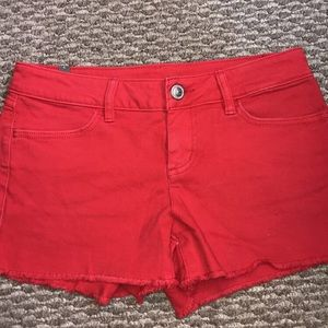 Red Lauren Conrad Shorts, NWOT